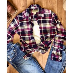 Rustic ridge flannel